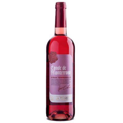 Vinho-Espanhol-Rose-Conde-de-Monterroso-Shiraz-Tempranillo-VinhoSite