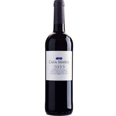 Vinho-Espanhol-Tempranilo-Tinto-Casa-Maria-VinhoSite