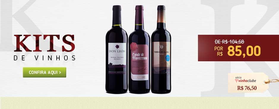 Trio de Vinhos