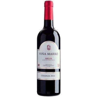 Vinho-Espanhol-Tempranillo-Graciano-Tinto-Viña-Marro-Rioja-Crianza