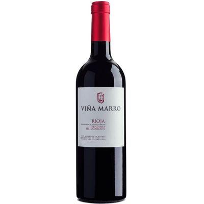 Vinho-Espanhol-Tempranillo-Tinto-Viña-Marro-Rioja-Vendimia-Seleccionada