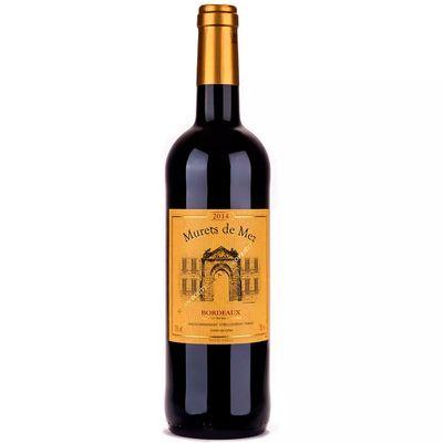 Vinho-Bordeaux-AOC-Frances-Murets-de-Mez-Rouge-Tinto-VinhoSite