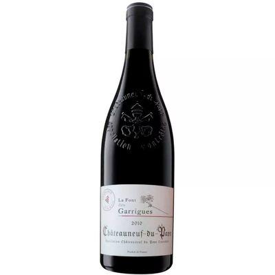 Vinho-Chateauneauf-du-Pape-Vinho-Frances-Fonte-des-Garrigues-VinhoSite