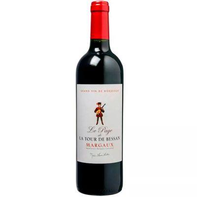 Margaux-Vinho-Frances-La-page-de-La-Tour-Bessan-Tinto-VinhoSite