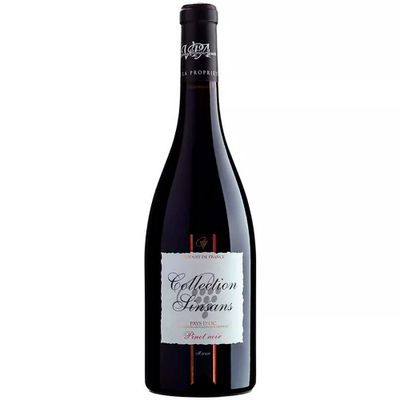 Vinho-Frances-Pinot-Noir-Collection-Sinsans-IGP-D-OC-VinhoSite