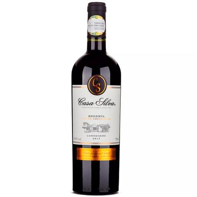 Vinho-Carmenere-Chileno-Casa-Silva-Reserva-Tinto-VinhoSite