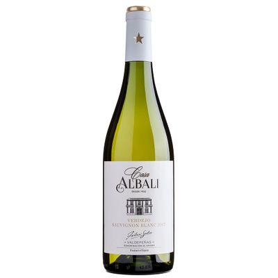 Vinho-Espanhol-Branco-Casa-Albali-Sauvignon-Blanc-Verdeja-VinhoSite